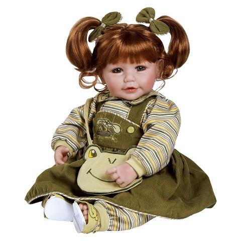 "Adora Froggy Fun 20"" Girl Doll"
