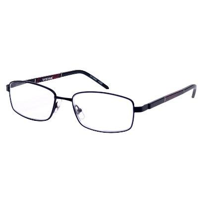 Foster Grant Griffin Reading Glasses - Satin Black (+2)