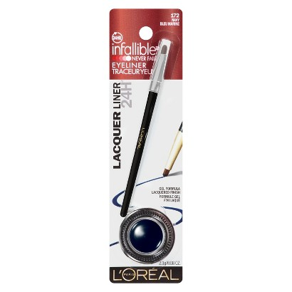 L'Oreal® Paris Infallible 24HR Lacquer Intense Gel Eyeliner