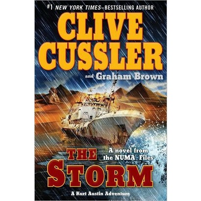 The Storm by Clive Cussler & Graham Brown (Hardcover)