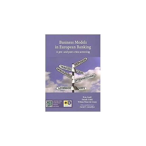 Business Models in European Banking (Paperback)