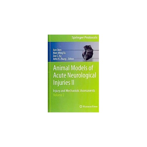 Animal Models of Acute Neurological Injuries II (Hardcover)