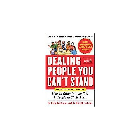 Dealing With People You Can't Stand (Revised / Expanded) (Paperback)