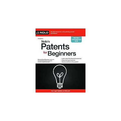 Nolo's Patents for Beginners (Revised) (Paperback)
