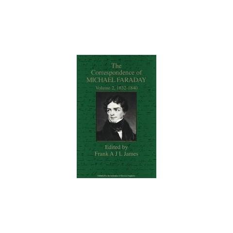 The Correspondence of Michael Faraday (2) (Hardcover)