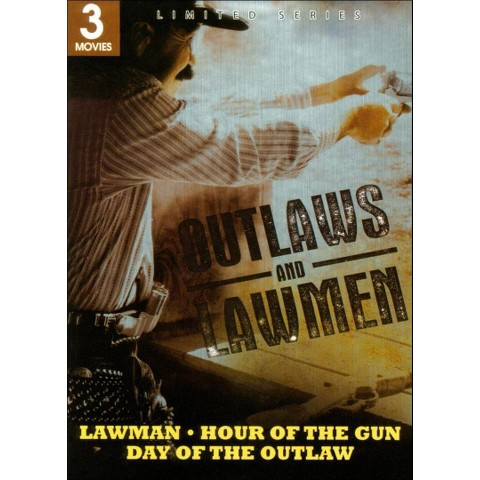 Outlaws and Lawmen: Lawman/Hour of the Gun/Day of the Outlaw (2 Discs)