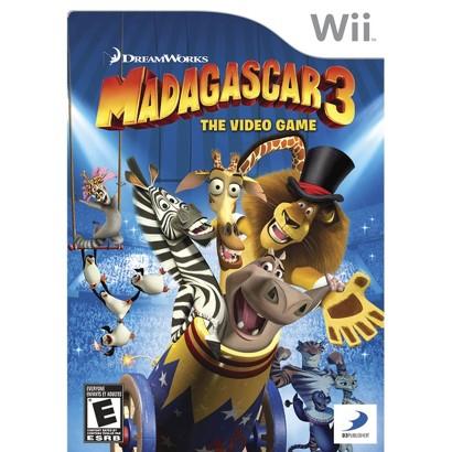 Madagascar 3: The Video Game (Nintendo Wii)
