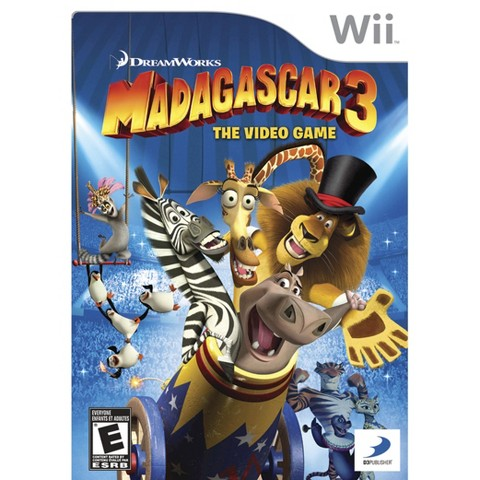 Madagascar 3: The Video Game (Nintendo Wii)