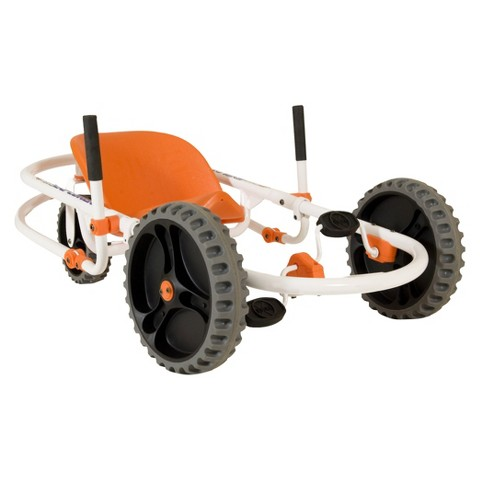YBIKE Explorer 3 Wheel Go Cart - White/Orange