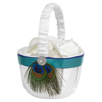 Peacock Plume Basket