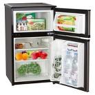 Emerson 3.1 Cu. Ft. 2-Door Mini Fridge and Freezer