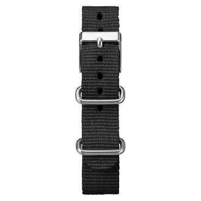 Women's Timex Weekender™ Mid-Size Slip Thru Replacement Strap - Black (18mm)
