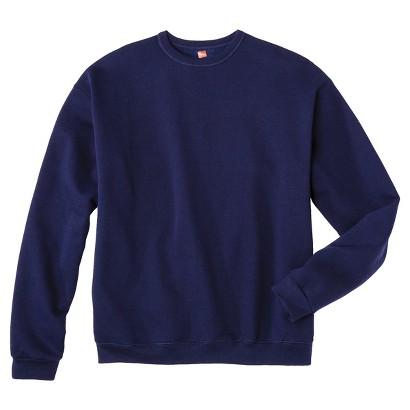 Hanes® Premium Men's Fleece Crew-Neck Sweatshirt - Assorted Colors