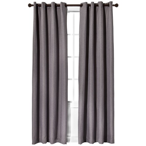 Eclipse™ Light Blocking Fairfax Thermaweave Curtain Panel