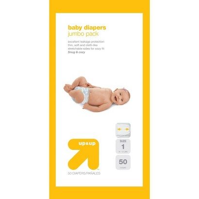 up&up™ Baby Diapers - Small Pack (Select Size)