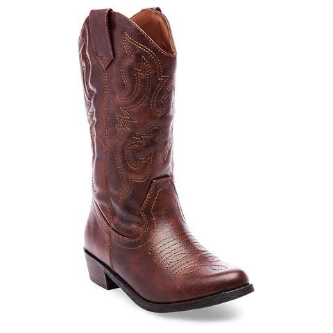 Girl's Cherokee® Gregoria Cowboy Boot - Assorted Colors