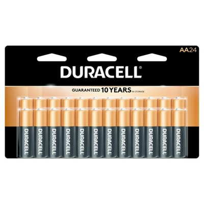 Duracell Coppertop 24-pk. AA Batteries