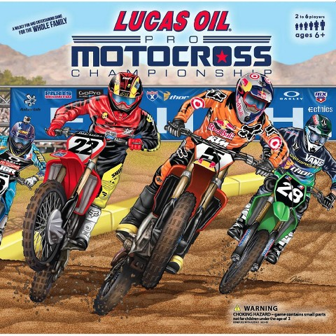 Motocross Unplugged Board Game