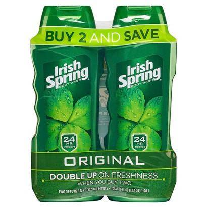 Irish Spring Original Body Wash 15oz, Twin Pack