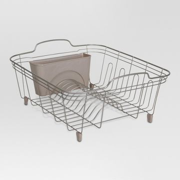 bronze dish drainer rack target. Black Bedroom Furniture Sets. Home Design Ideas