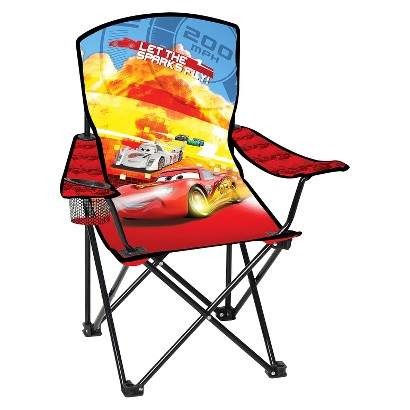 Disney Licensed Child Folding Arm Chair - Cars