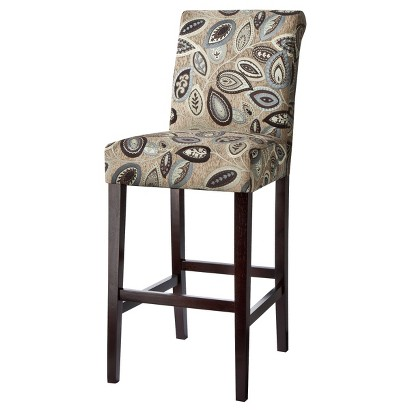 "30"" Avington Bar Stool - Paisley Leaf"