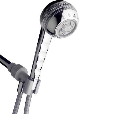 Single Shower Head - Silver