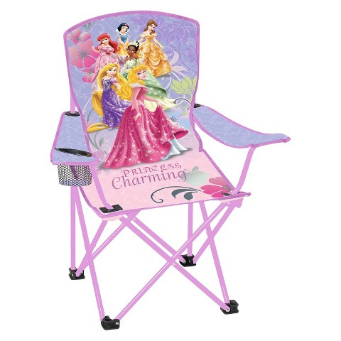 Disney Licensed Child Folding Arm Chair - Princess