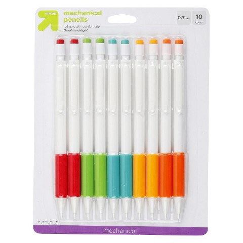 up & up™ 0.7MM Mechanical Pencils - 10 ct