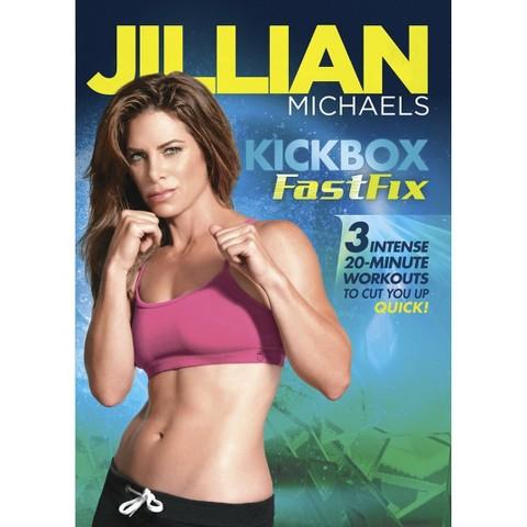 Jillian Michaels Kickbos Fastfix Dvd_video