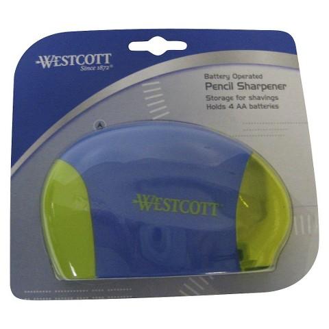 Wescott Battery Operated Pencil Sharpener