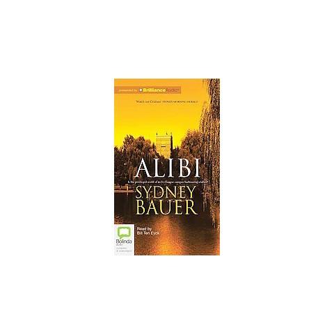 Alibi (Unabridged) (Compact Disc)