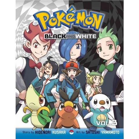 Pokemon Black and White 3 (Paperback) (Hidenori Kusaka)