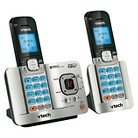 Vtech Bluetooth Enabled Answering System (DS6521-2), 2 Handsets -  Silver