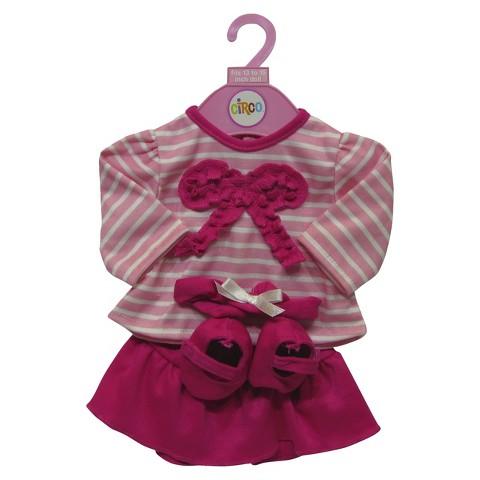 """Shirt & Skirt for 13-15"""" Doll"""