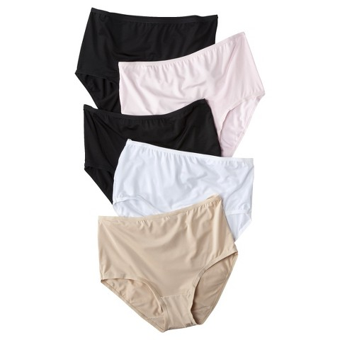 Fruit of the Loom® Women's Microfiber Briefs 5-Pack (Colors May Vary)