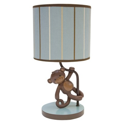 Lambs & Ivy Giggles Lamp with Shade and Bulb