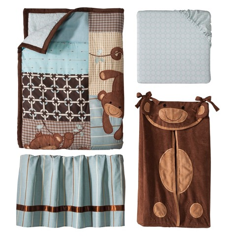 Lambs & Ivy Giggles 5 Piece Bedding Set
