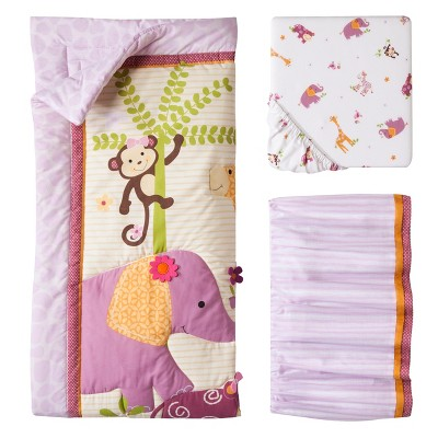 Lambs & Ivy 3pc Bedding Set - Lil' Friends