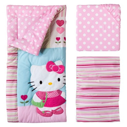 Bedtime Originals Hello Kitty & Puppy 3 Piece Bedding Set