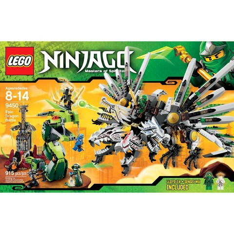 LEGO® Ninjago Epic Dragon Battle 9450