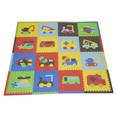Tadpoles Playmat Set - Vehicles