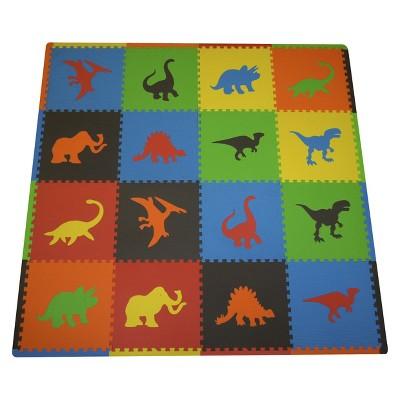 Tadpole Mat 16 Piece - Dinosaurs