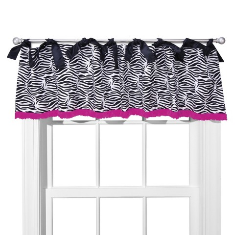 Trend Tie top Window Valance - Zahara