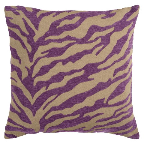Zebra Print Toss Pillow