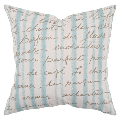 Sea Toss Pillow - 18x18""