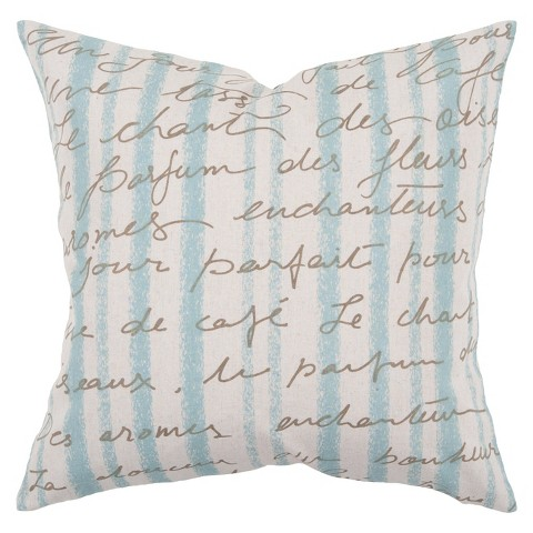 "Sea Toss Pillow 18"" x 18"""