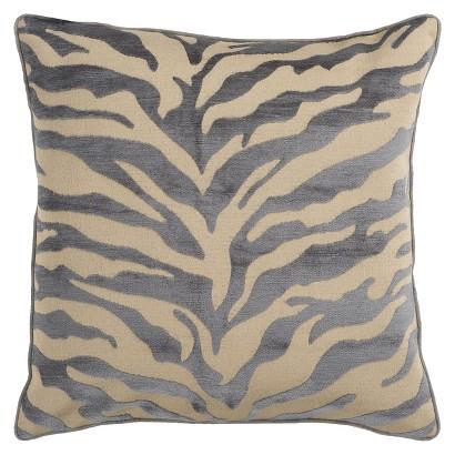 Zebra Print Toss Pillow