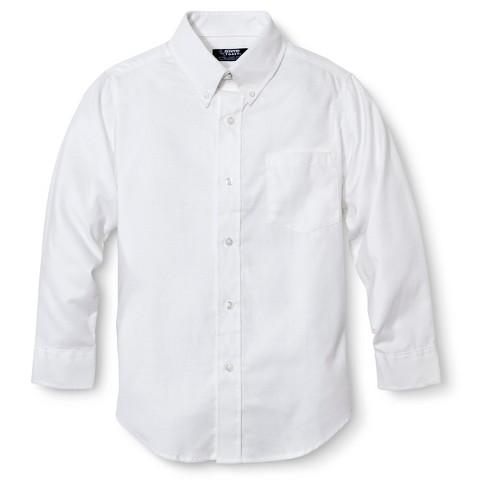 French Toast® Boys' School Uniform Long-Sleeve Oxford Shirt