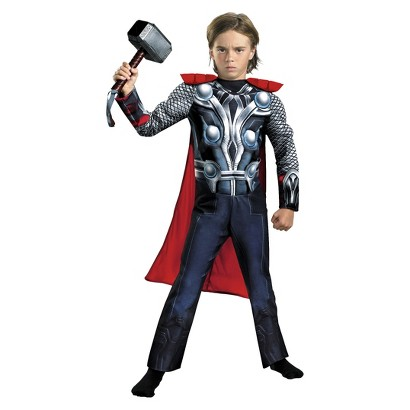 Boy's Thor Avengers Classic Muscle Costume